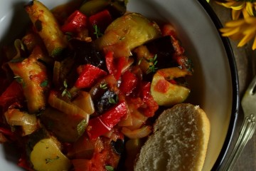 PIECZONE RATATOUILLE NICEJSKIE